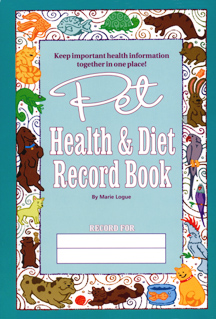 Pet Health & Diet Record Book by Marie Logue