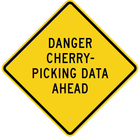Cherry Picking Warning Sign