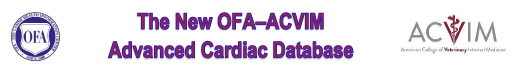 OFA Advanced Cardiac Database