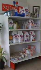 Vet's Shelves of Science Diet