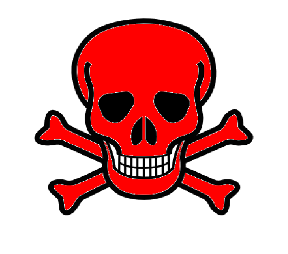 Pics Photos - Skull And Crossbones With Red Hi Png